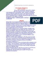 Origen y Características de La Filosofía Medieval
