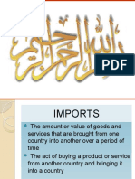 Pak total imports in last 5 years