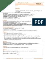 Cours Math - Chap 1 Géométrie Complexes - Bac Sciences (2009-2010) Mr Abdelbasset Laataoui Www.espacemaths.com