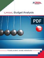 CRISIL Budget Analysis 2016