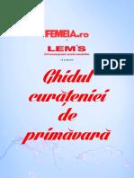 LEMS Ghidul Curatenie de Primavara by FEMEIA.ro