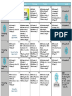 Terra Losa Lifestyles Recreation Calendar