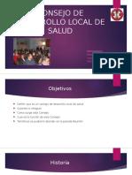 Consejo de Desarrollo Local