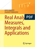 Boris Makarov, Anatolii Podkorytov-Real Analysis_ Measures, Integrals and Applications-Springer-Verlag London (2013)