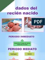 Cuidados en El Recien Nacido