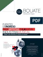 Fuentes de Ingreso Para Artistas en La Nueva Industria Musical