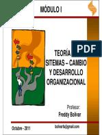 Ferrer Teoradesistemas Cambioydesarrolloorganizacional 111016201315 Phpapp02