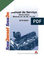 Motor Sisu Citius 44, 49, 66, 74, 84