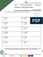 Ficha Formativa Nº 3 – Lei de Ohm e Lei de Joule Scribd