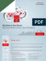 Oracle Big Data Cloud Service