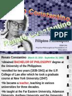 Renato Constantino