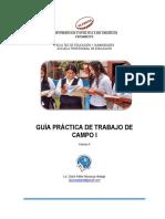 Guía Práctica de Trabajo de Campo I