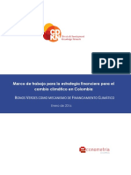 Bonos Verdes Como Mecanismo de Financiamiento Climatico