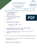 Exam 6 Algebra