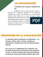 Etapas de La Localización