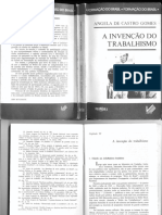 A invenção do trabalhismo. Gomes, Angela de Castro.pdf