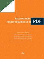 Livro Receitas Para Fenilcetonuricos e Celiacos