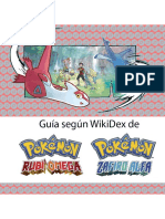 Guia Pokemon ROZA