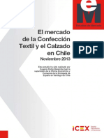 Chile textil calzado 2013