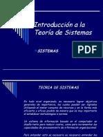 Teoria de Sistemas_clase Sistemas