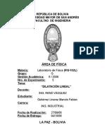 Dilatación Lineal LEVI
