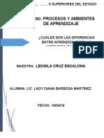Barbosa Martínez Lady Diana Aprendizaje Real y Virtual