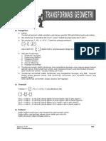 Materi 22 - Transformasi Geometri