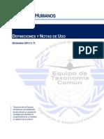 Human Factors Spanish
