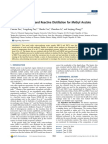 Catalysts, Kinetics, And Reactive Distillation for Methyl Acetate Synthesis