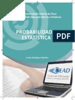 Propabilidade e EStatística I - Livro Texto.