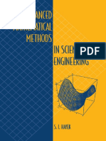 advanced mathematical methods in science and engineering s. i. hayek.pdf