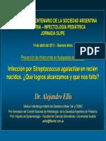 Infección Por Streptococcus en Recién Nacidos