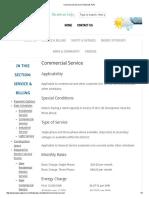 Tillamook PUD - Commercial Service