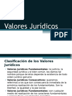 Valores Jurídicos