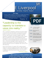 SIFE Newsletter A4