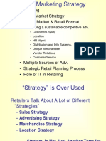 Retail II Strategy