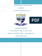 informe constitucional