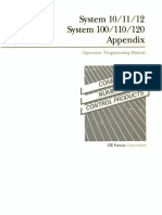 Fanuc System 10-11-12 Series Operation Programming Parameter Manual Appendix(B-54810E 02)