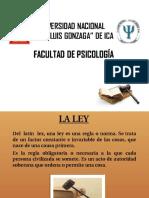 02. DF. La Ley y Garantías Constitucionales