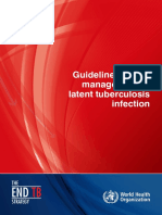 Guidelines on the Management of Latent TB Infection
