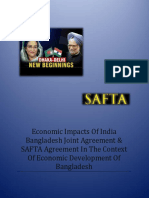 Economic Impacts of SAFTA in the Context of Bangladesh