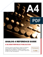 Analog 4 Quick Reference