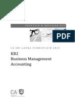 Kb2 Practice Revision Kit