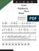 Duke Robillards Piano Blues