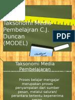 Taksonomi Media Pembelajran C