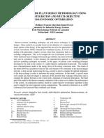 Advanced Power Plant Design Methodology