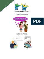 Funcion Peotica , Apelativa y Fatica , Teoria de Charles Darwin