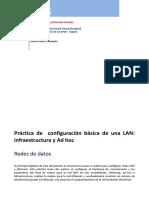 Práctica Configuracion LAN
