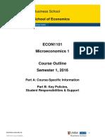 ECON1101 Microeconomics 1 PartsAandB S12016