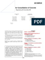 ACI 309R-05 - Guide for Consolidation of Concrete